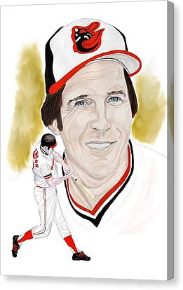 Brooks Robinson Canvas Print by Steve Ramer