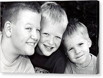 Brothers Three Canvas Print