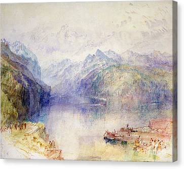 Brunnen  Canvas Print by Joseph Mallord William Turner
