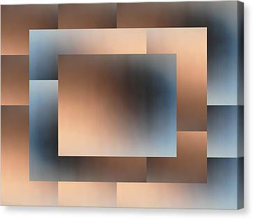 Brushed 01 Canvas Print by Tim Allen
