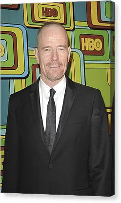 Bryan Cranston At The After-party Canvas Print by Everett
