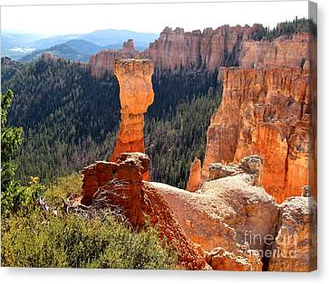 Bryce Canyon Beauty Canvas Print by Marilyn Smith