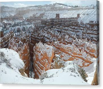 Bryce Canyon Feburary  Canvas Print