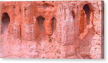 Canvas Print featuring the photograph Bryce Canyon Grottos by Ann Johndro-Collins