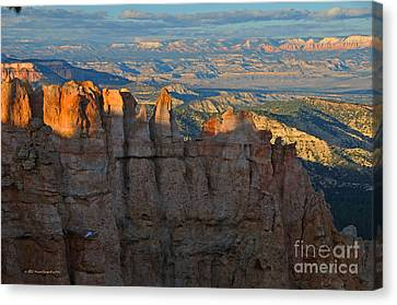 Bryce Canyon National Park Dusk Landscape Canvas Print