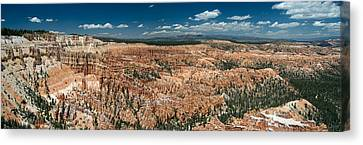 Bryce Canyon Panaramic Canvas Print by Larry Carr