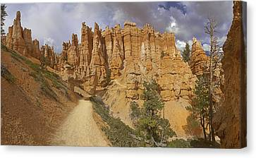 Canvas Print featuring the photograph Bryce Canyon Trail by Gregory Scott