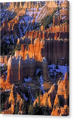 Bryce Sunrise Canvas Print