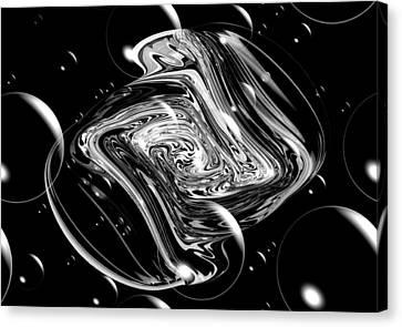 Bubble Blast Canvas Print