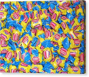 Bubble Gum Bubble Gum Canvas Print by Beth Saffer