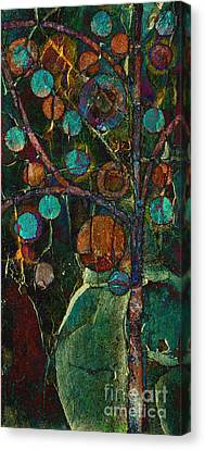 Bubble Tree - Spc01ct04 - Left Canvas Print by Variance Collections