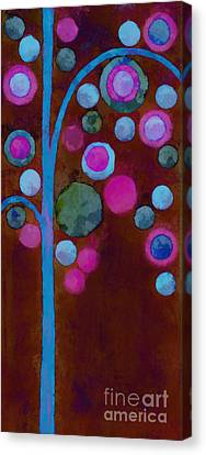 Bubble Tree - W02d Canvas Print by Variance Collections