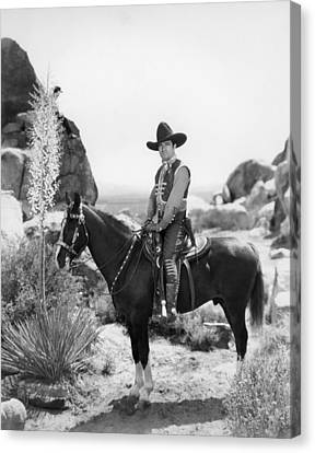 Buck Jones, Ca Early 1930s Canvas Print by Everett