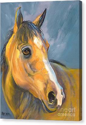 Horse Giclee Canvas Print - Buckskin Beauty by Susan A Becker