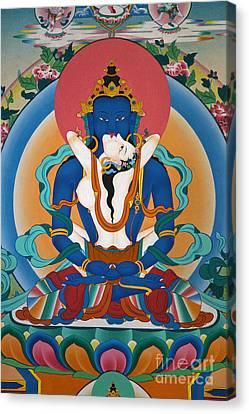 Buddha In Yabyum - Nepal Canvas Print by Craig Lovell