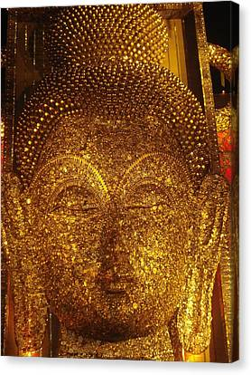 Plaster Of Paris Canvas Print - Buddha  by Prasenjit Dhar