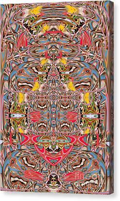 Buddha Sight Unseen Canvas Print by Rick Wolfryd