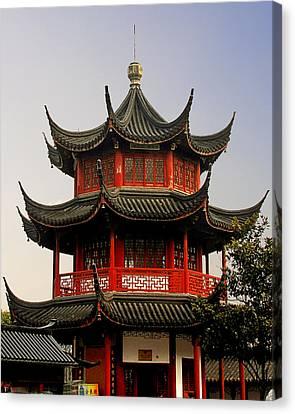 Buddhist Pagoda - Shanghai China Canvas Print