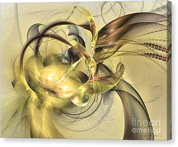 Budding Fruit - Abstract Art Canvas Print by Abstract art prints by Sipo