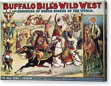 Buffalo Bill: Poster, 1899 Canvas Print by Granger