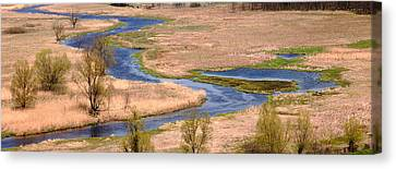 Bug River In Belarus Canvas Print by Igors Parhomciks