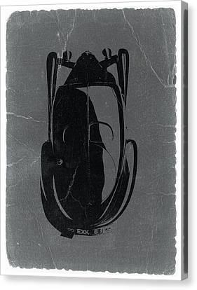 Bugatti 57 S Atlantic Top Canvas Print by Naxart Studio