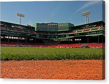 Bugs Eye View From Center Field Canvas Print by Paul Mangold