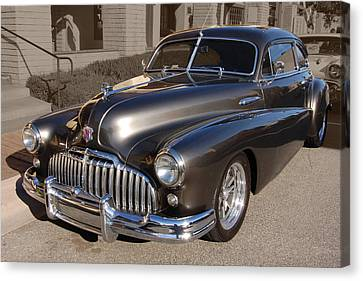 Canvas Print featuring the photograph Buick Fastback by Bill Dutting