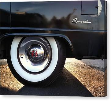 Canvas Print featuring the photograph Buick Rear by Elizabeth Coats