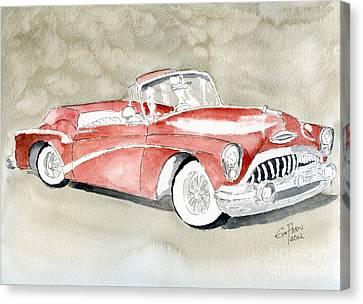 Buick Skylark 1953 Canvas Print by Eva Ason