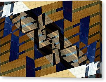 Building Deconnexion Canvas Print by R Kyllo