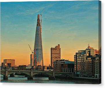 Building Shard Canvas Print