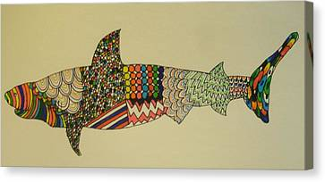 Bull Shark Canvas Print