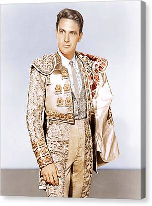 Bullfighter And The Lady, Robert Stack Canvas Print by Everett