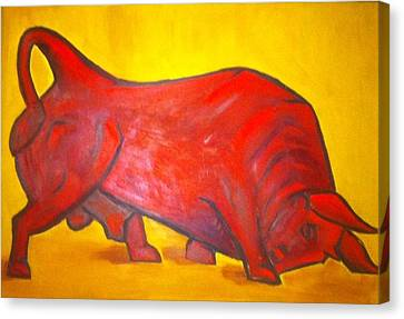 Bulltastic Canvas Print