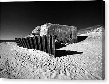 Bunker Canvas Print by Holger Ostwald