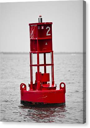Buoy Two Canvas Print by Donni Mac