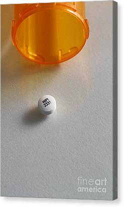 Bupropion Hydrochloride Canvas Print by Photo Researchers, Inc.