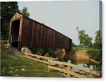 Burford Covered Bridge Canvas Print