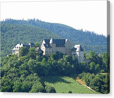 Burg Ebernburg Germany Canvas Print by Joseph Hendrix