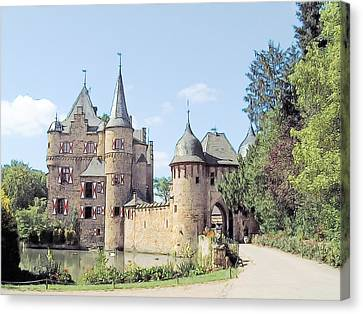 Burg Satzvey Germany Canvas Print by Joseph Hendrix