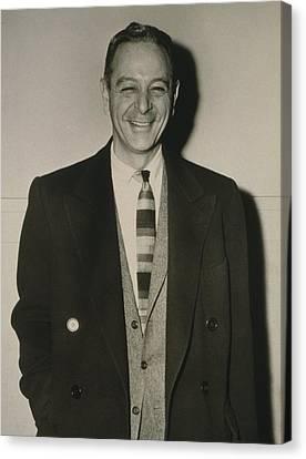 Grammy Winners Canvas Print - Burton Lane 1912-1997, Composer by Everett