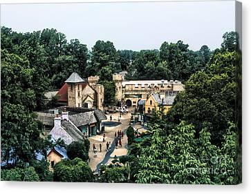 Canvas Print featuring the photograph Busch Garden Township by Joe Finney
