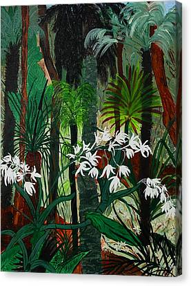 Canvas Print featuring the painting Bush Beauty by Judi Goodwin