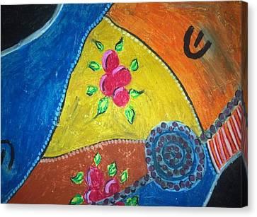 Bush Cherry Canvas Print by Julie Butterworth