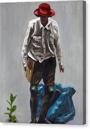 Bush Regenerator Canvas Print
