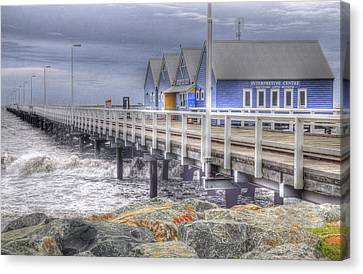 Busselton Jetty Canvas Print