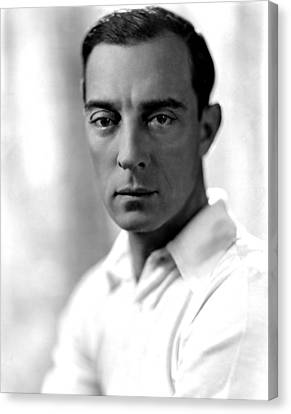 Buster Keaton, Mgm, 1930, Photo Canvas Print by Everett