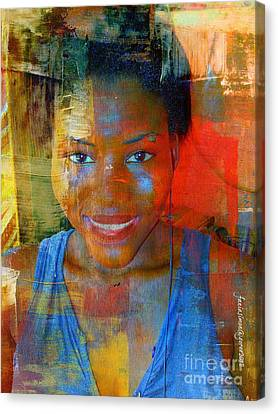 But Still Blessed Canvas Print by Fania Simon