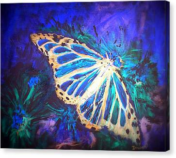 Butterfly Beauty 2 Canvas Print by Raymond Doward